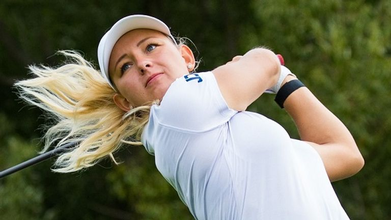 Emily Kristine Pedersen birdied the first extra hole to win the title