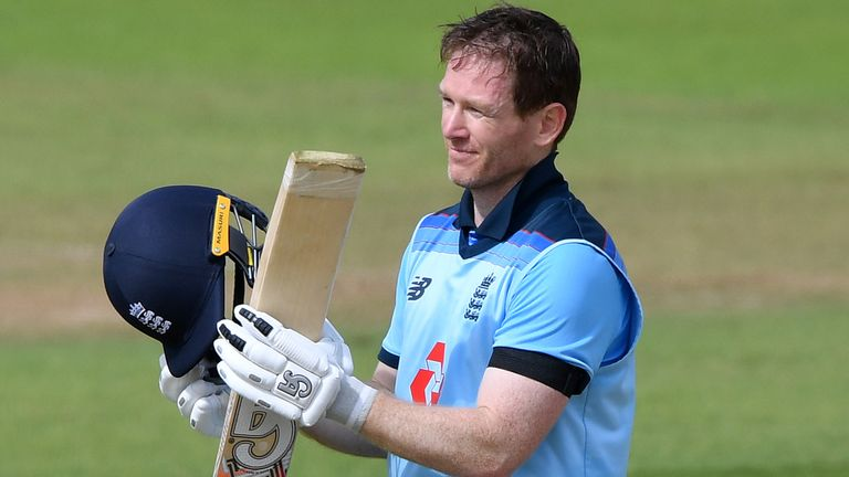 Morgan led England to an ODI series win against Ireland earlier this month