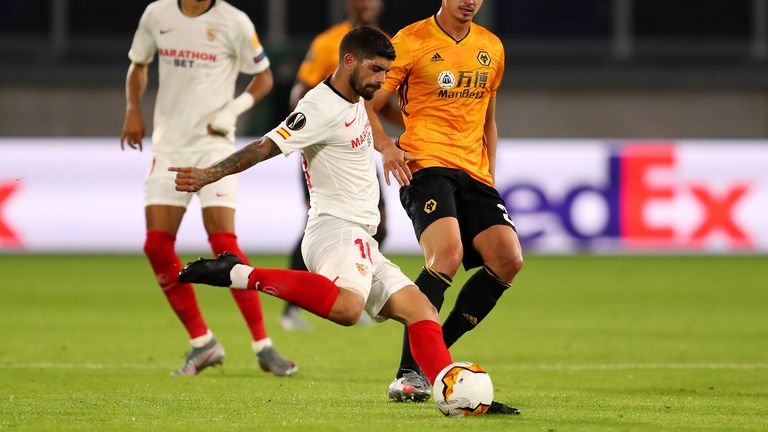 Sevilla's key man: Ever Banega