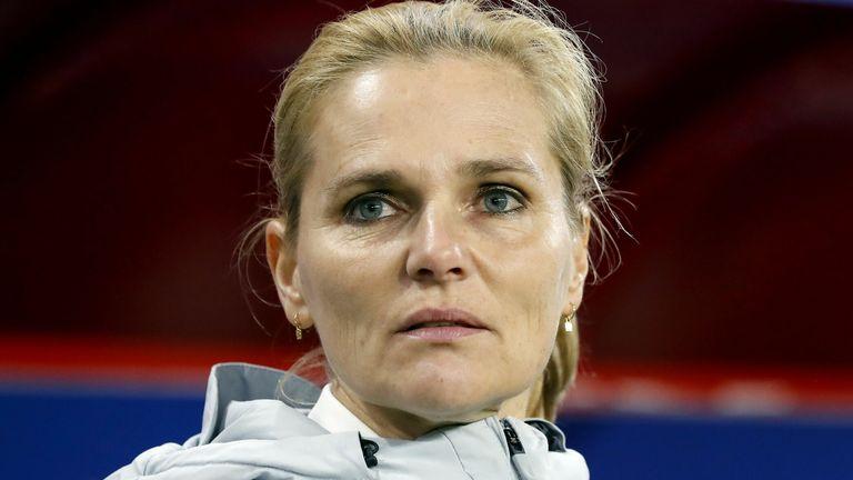 Netherlands manager Sarina Wiegman