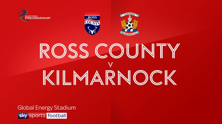 ross county v kilmarnock badge