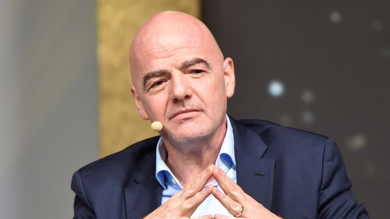 A criminal case against Gianni Infantino was opened by a Swiss special prosecutor