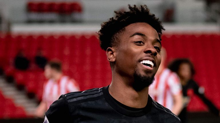 Angel Gomes left Manchester United on July 1 after rejecting a new deal