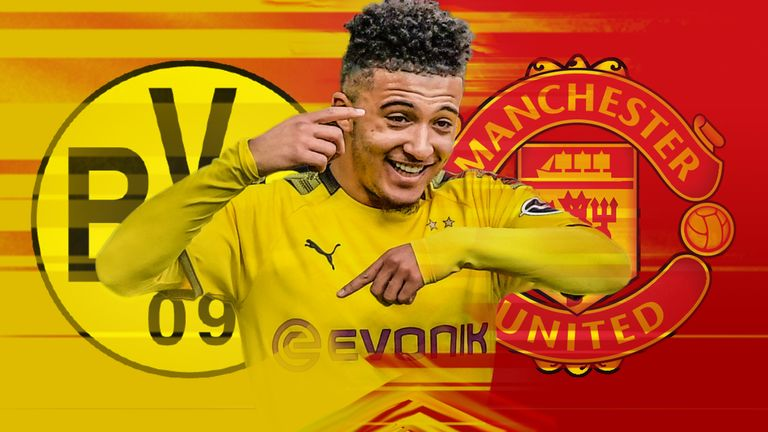Sancho remains Manchester United's No 1 transfer target