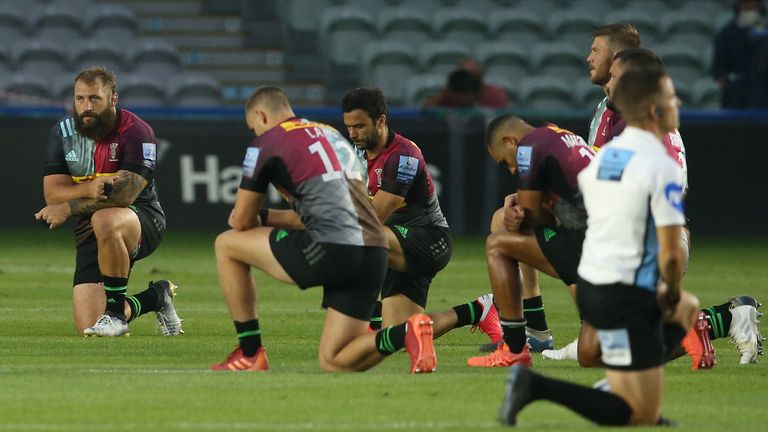 Image result for take a knee in rugby