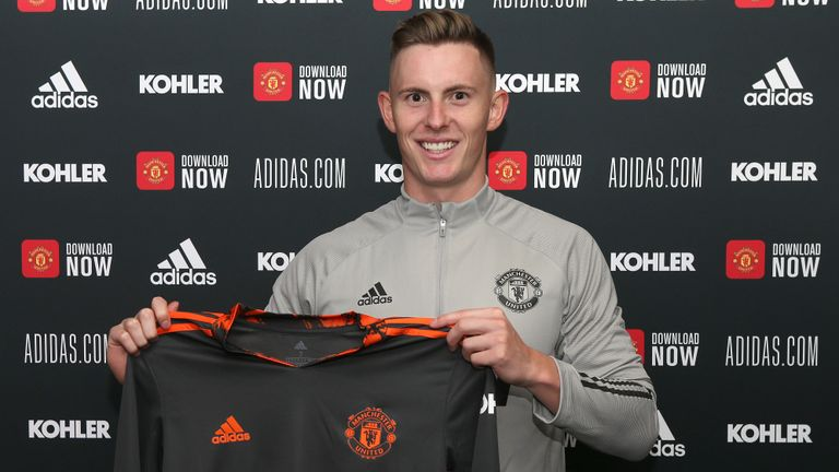 Dean Henderson has signed a new six-year contract with Man Utd