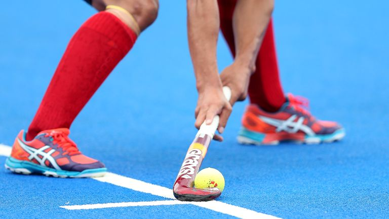 A detailed view during the FIH Mens Hero Hockey Champions Trophy match