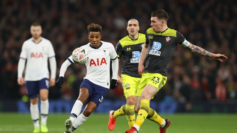 Hojbjerg played against Spurs in the FA Cup earlier this year