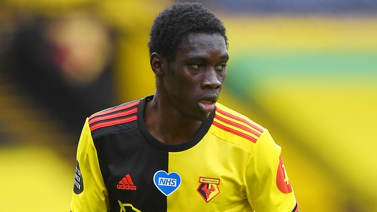 Watford's Ismaila Sarr has called Liverpool 'a great team'