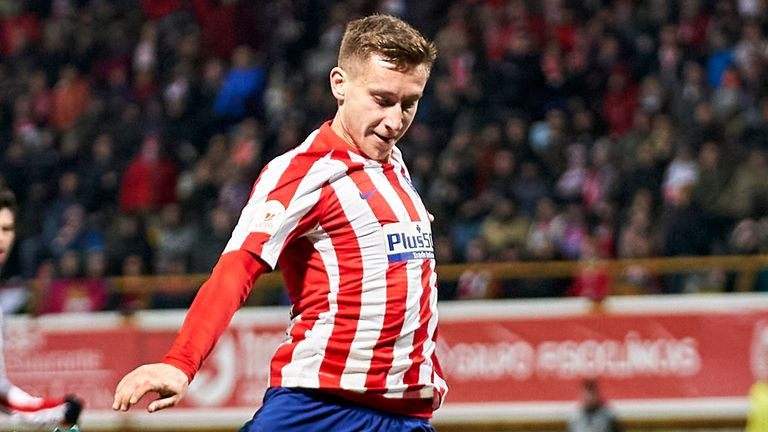 Atletico's Ivan Saponjic has been linked with a move to Parkhead