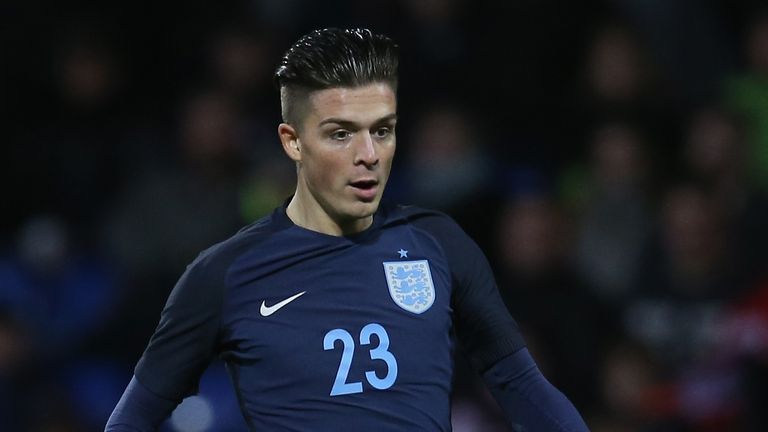 Jack Grealish has received his debut England call-up for the Nations League double header