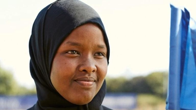 Roble arrived in the UK from Somalia as a refugee aged 10 (Credit: Jawahir Roble)