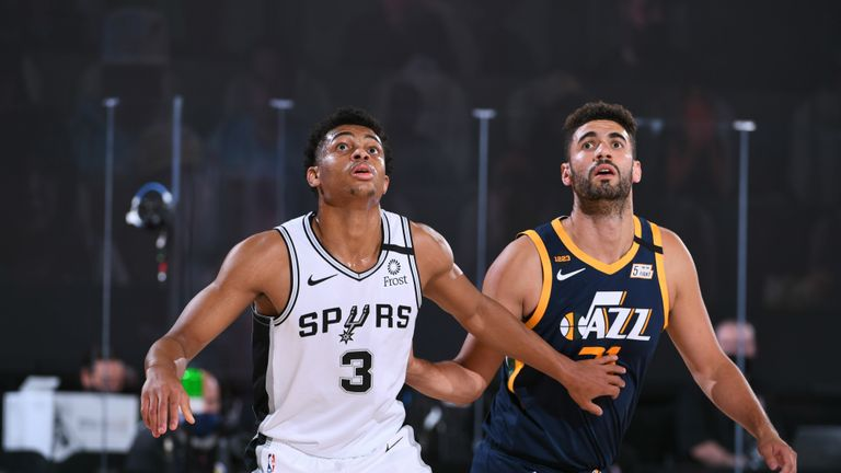 San Antonio Spurs and the Utah Jazz