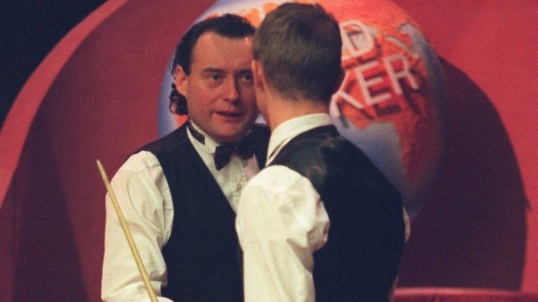 Stephen Hendry was the scourge of White's World Championship ambitions