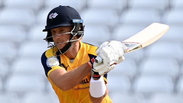 Joe Root has scored two fifties in two days for Yorkshire in the Vitality Blast