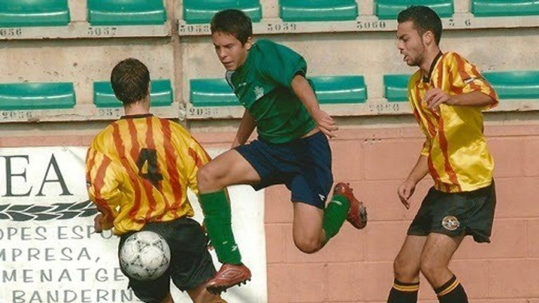 Jordi Alba is the most successful player to come out of UE Cornella after initially being released by Barcelona's academy (Image c/o UE Cornella)