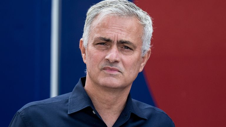 Spurs boss Jose Mourinho has a heavy fixture to contend with in September