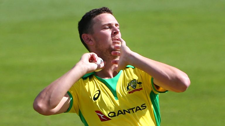Josh Hazlewood says white-ball series with England will be tough but Australia expect to win every game
