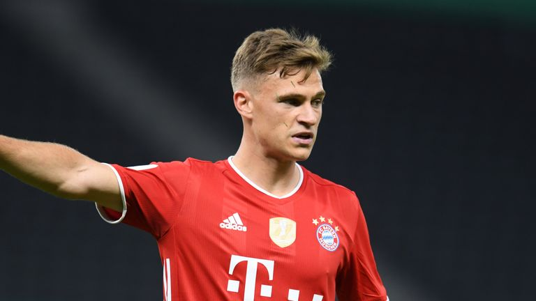 Joshua Kimmich has been a key part of Flick's side