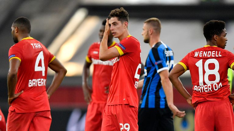 Chelsea target Kai Havertz may have played his final game for Leverkusen