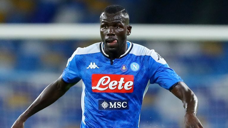 Kalidou Koulibaly has been linked with a move to Manchester City this summer
