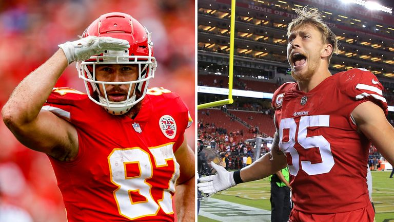 Pro Football Focus' George Chahrouri examines whether San Francisco 49ers' George Kittle or Kansas City Chiefs' Travis Kelce is the NFL's best tight end