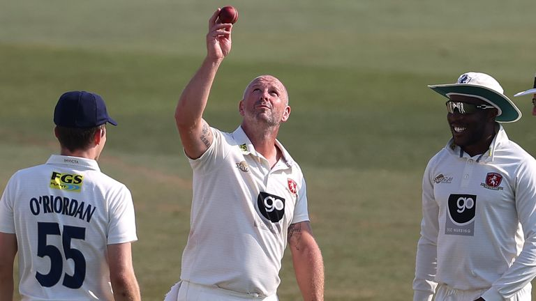 Stevens recently took his 800th wicket across all three forms of domestic cricket