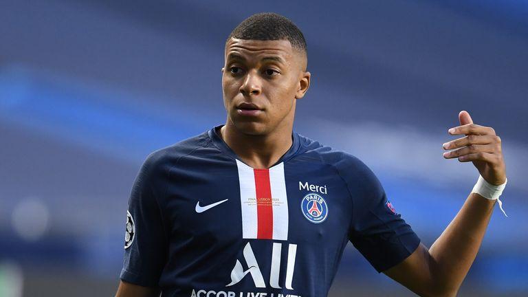 Kylian Mbappe France And Paris Saint Germain Striker Tests Positive For Coronavirus Football News Sky Sports