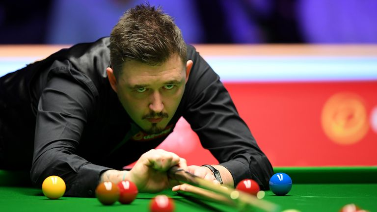 Kyren Wilson is through to the last eight where he will face Judd Trump