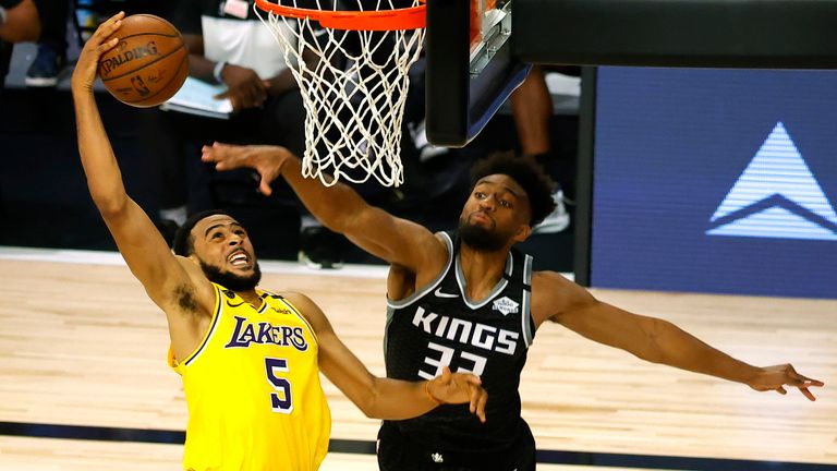 Sacramento Kings and the LA Lakers