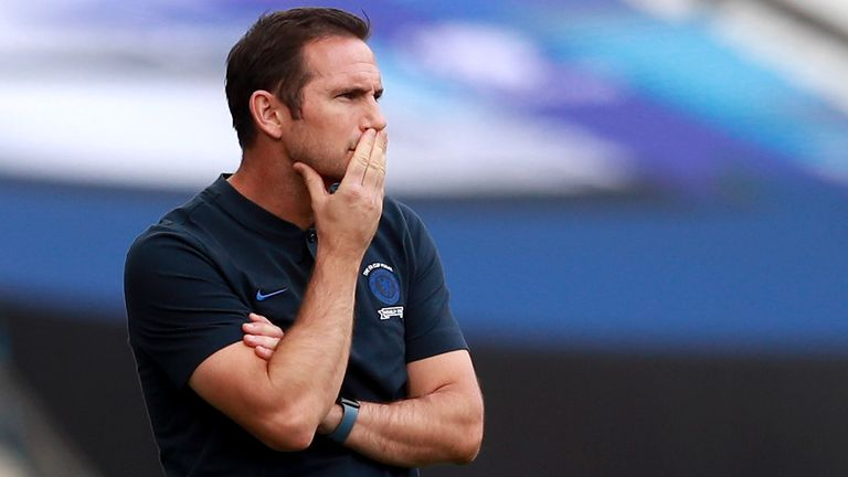 Frank Lampard fears more injuries to his Chelsea squad if they are rushed back