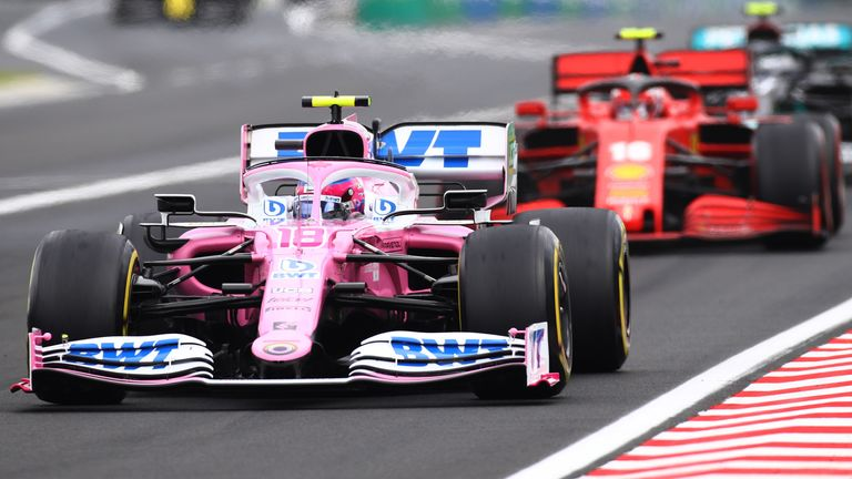 Stewards ruled that Racing Point's rear brake ducts contravened regulations