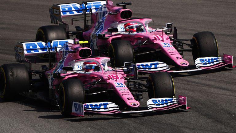 Lance Stroll und Sergio Perez sind die Racing Point-Fahrer dieser Saison