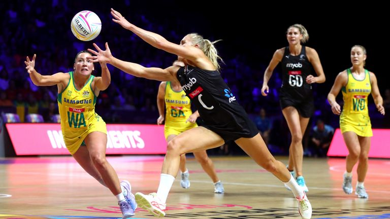 Laura Langman is one of a number of supporters who have moved away from international netball