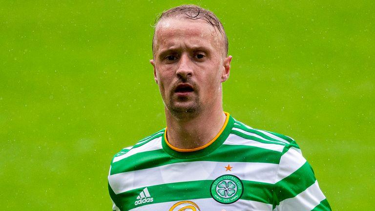 Celtic's Leigh Griffiths during a pre-season friendly against Hibernian