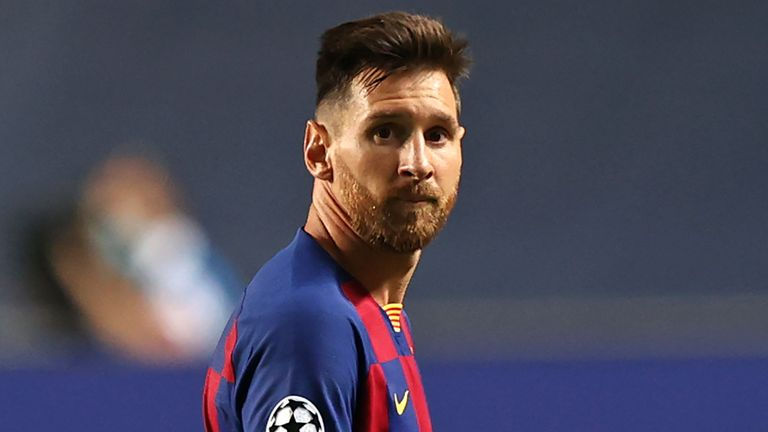 Lionel Messi's near twenty-year association with Barcelona appears to be coming to an end after he handed in a transfer request
