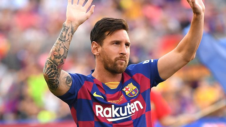Man City are considered to be among the favourites to sign Lionel Messi