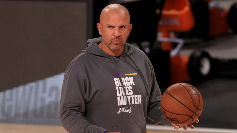 Los Angeles Lakers assistant coach Jason Kidd