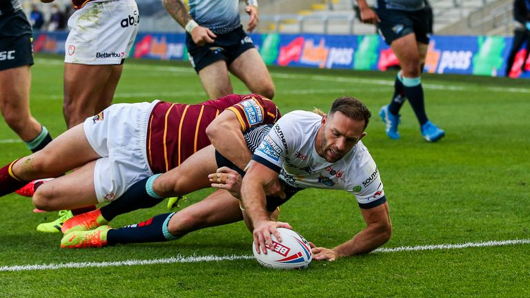 Luke Gale's try sparked Leeds' comeback against Huddersfield before kicking the winning drop-goal in extra-time