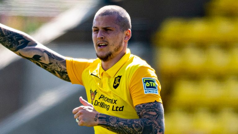 Lyndon Dykes gave Livingston hope from the spot after half-time