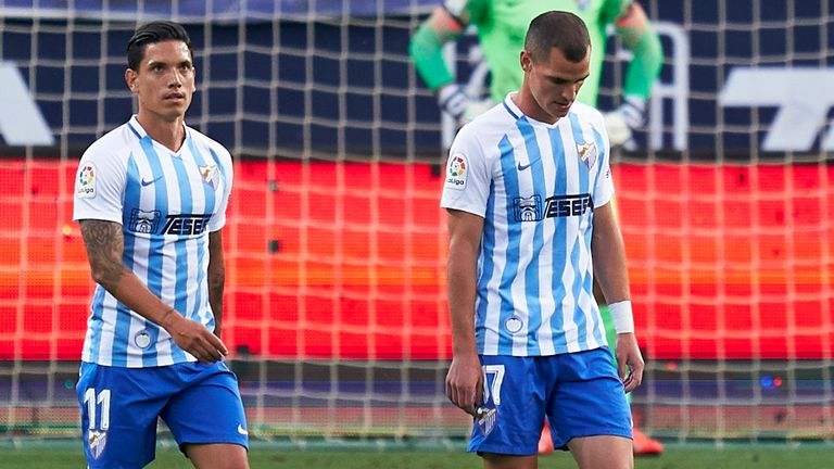 Malaga finished 14th in the Segunda Division last season