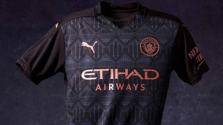 Man City have released their away shirt for the 2020/21 season