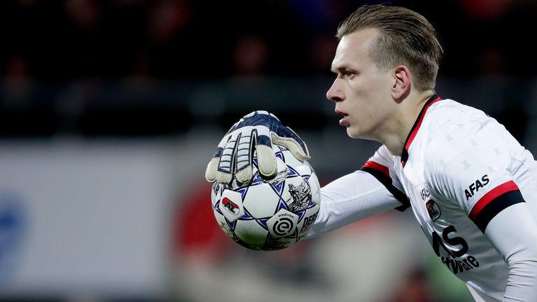 AZ goalkeeper Marco Bizot
