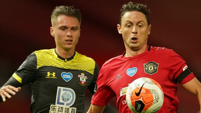 Matic featured in each of United's final nine Premier League games after the season restart