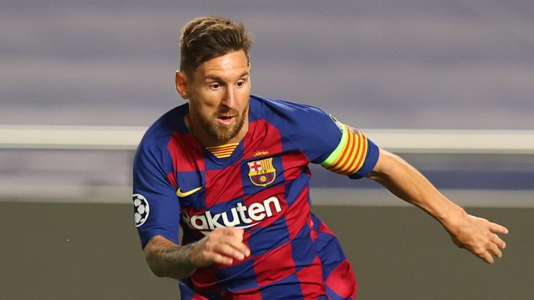 Barcelona need to compromise over Lionel Messi's decision to leave the club because they are in an 'extremely weak position', says Spanish football expert Graham Hunter