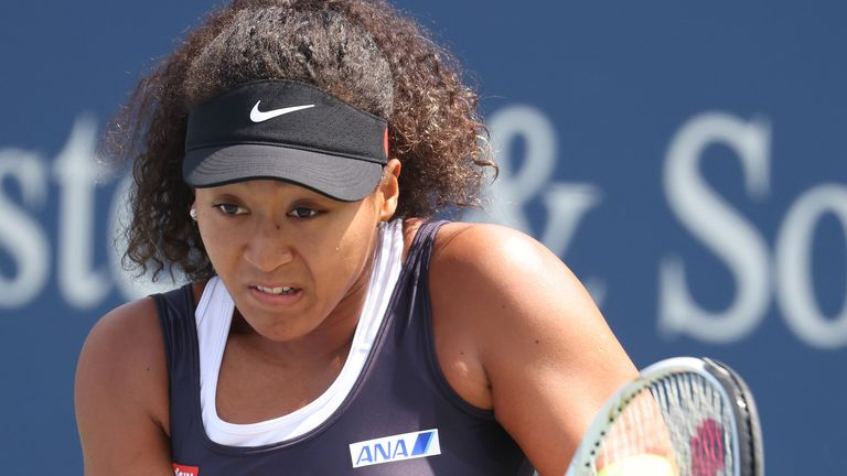 Naomi Osaka will play in the Western & Southern Open semi-final on Friday