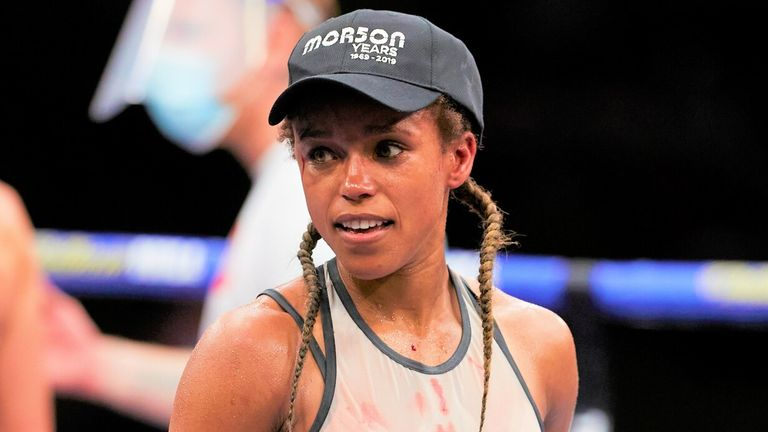 Natasha Jonas has emerged as a potential opponent for Katie Taylor