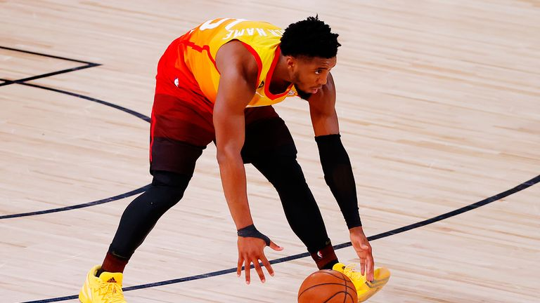 Donovan Mitchell came up clutch for the Utah Jazz to force overtime in their NBA encounter with the Denver Nuggets.