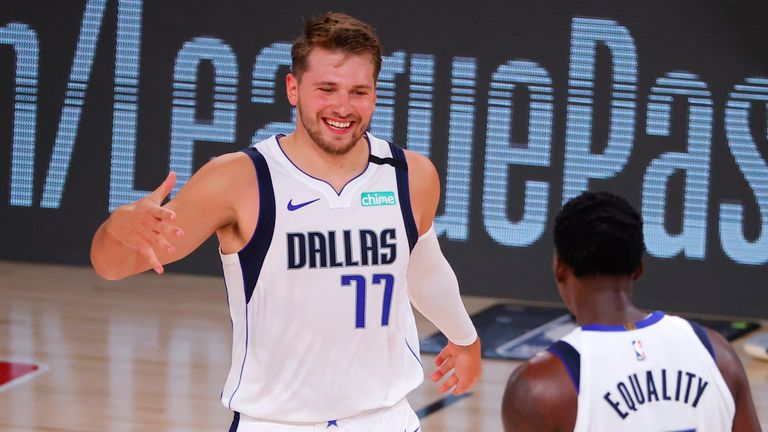 Luka Doncic finished with 36 points and his 17th triple-double of the NBA season as the Dallas Mavericks beat the Milwaukee Bucks.