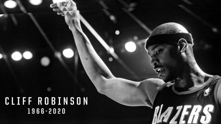 Portland Trail Blazers legend Cliff Robinson has sadly died at the age of 53.